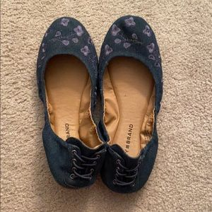 Lucky Brand Denim Flats